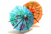 Dois guarda-chuva de Cocktail colorido