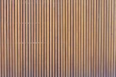 Pattern Of Modern Wall With Vertical Wooden Panel, Slats. Background Of Wooden Boards. Wooden Fence  poster