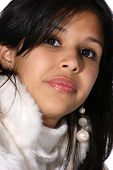 Attractive Young Hispanic Woman