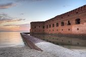 Sunset at Dry Tortugas