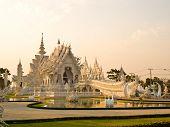 Wat Rong Khun en Chiang Rai, Tailandia