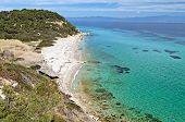 Sunny beach at Halkidiki, Greece