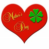 Mothers Day Clover Leaf