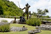 Savaku the Arawak spirit of St. Barths representing the forces of nature