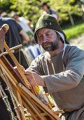 Portrait Of A Medieval Leatherworker