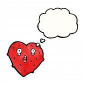 Cartoon lustig Liebe Herz