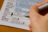 Signing Taxes