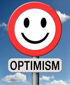 optimism think positive as an optimist and enjoy life full of happiness at the sunny side of the roa