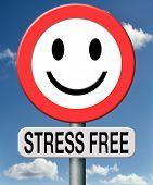 stress free totally relaxed without any pressure succeed in stress test trough stress management and