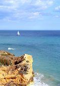 Algarve  Coastel Scenario poster