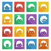 Bright Kids Icons
