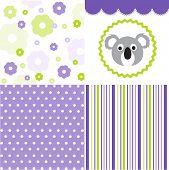 Baby pattern set