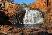 Waterfall and pool with clear water, Kakadu National Park, Northern Territory, Australia