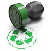 Ecological stamp