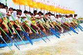 Boat race in the Phaung Daw Oo festival