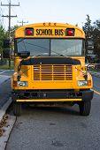 Traditional Yellow School Bus