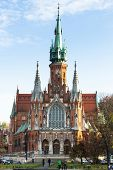 KRAKOW, POLAND - OCT 19: Church Joseph - a historic Roman Catholic church in south-central part of K