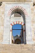 Entrance Of Uc Serefeli Mosque