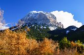 Mountains In Ordesa National Park, Pyrenees, Huesca, Aragon, Spain
