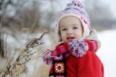 Little Winter Baby Girl
