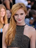 LOS ANGELES - MAR 18:  Bella Thorne arrives to the 'Divergent' Los Angeles Premiere  on March 18, 2014 in Westwood, CA