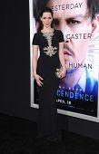 LOS ANGELES - APR 10:  Rebecca Hall arrives to the 'Transcendence' Los Angeles Premiere  on April 10