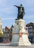Statue Of Jacob Van Artevelde.