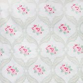 Pretty Vintage Floral Wallpaper Design