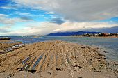 Rugged Shoreline in Kaikoura, New Zealand