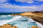 Pared Beach in Fuerteventura, Canary Islands, Spain