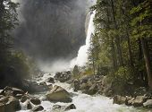 Yosemite Falls Up Close