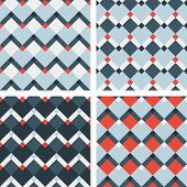 fashion geometric chevron pattern