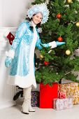 Cheerful Snow Maiden