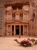 picture of treasury  - Jordan Petra - JPG