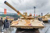 T-72. Modernized tank. Russia