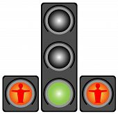 Traffic Lights For Pedestrians