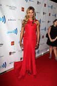 LOS ANGELES - APR 12:  Laverne Cox at the GLAAD Media Awards at Beverly Hilton Hotel on April 12, 20