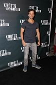 LOS ANGELES - OCT 3:  Nathan Kress at the Knott's Scary Farm Celebrity VIP Opening  at Knott's Berry Farm on October 3, 2014 in Buena Park, CA