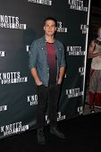 LOS ANGELES - OCT 3:  Dean Geyer at the Knott's Scary Farm Celebrity VIP Opening  at Knott's Berry F