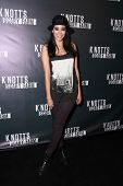 LOS ANGELES - OCT 3:  Edy Ganem at the Knott's Scary Farm Celebrity VIP Opening  at Knott's Berry Farm on October 3, 2014 in Buena Park, CA