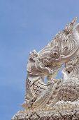 Plaster art sculpture