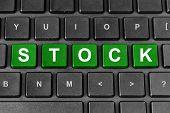 Stock Word On Keyboard