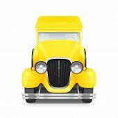 pic of car carrier  - Retro Car Icon - JPG