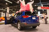 2015 Toyota Rav4 At The Orange County International Auto Show