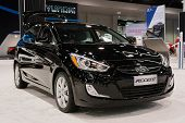 2015 Hyundai Accent At The Orange County International Auto Show