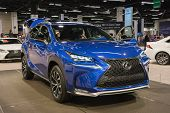 2015 Lexus Nx 200T Sport At The Orange County International Auto Show