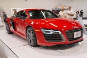 2015 Audi R8 Spyder At The Orange County International Auto Show