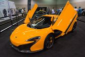 Mclaren P1 At The Orange County International Auto Show