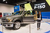Ford F-150 Aluminium Alloy At The Orange County International Auto