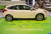 2015 Ford Focus Electric At The Orange County International Auto Show